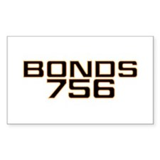 BONDS756 Rectangle Decal
