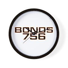BONDS756 Wall Clock