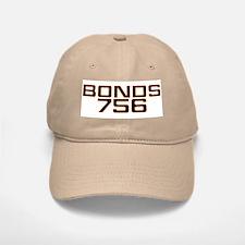 BONDS756 Baseball Baseball Cap