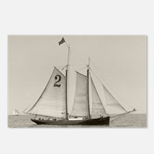 Unique Sailboats Postcards (Package of 8)