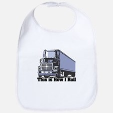 How I Roll (Tractor Trailer) Bib