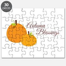 Autumn Blessings Puzzle