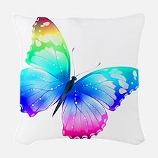 Butterfly Woven Throw Pillow