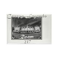 Creepy Legends Room 217 Rectangle Magnet