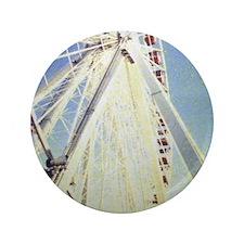 """Chicago Navy Pier 3.5"""" Button"""