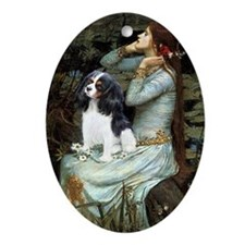 Opohelia & Tri Cavalier Ornament (Oval)
