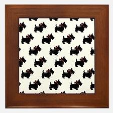 scottie Framed Tile