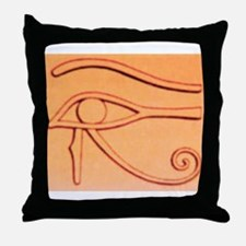 Left Eye Of Horus Throw Pillow