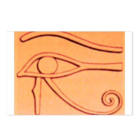 Left Eye Of Horus Postcards (Package of 8)