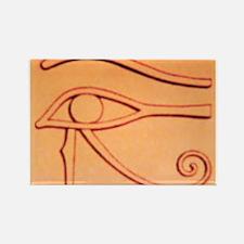 Left Eye Of Horus Rectangle Magnet