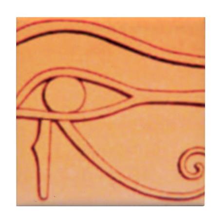Left Eye Of Horus Tile Coaster