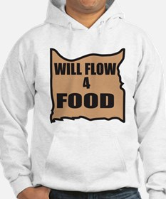 Will Flow 4 Food Hoodie