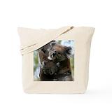Animals koala Canvas Totes