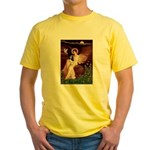 Angel (1) & Tri Cavalier Yellow T-Shirt