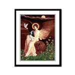 Angel (1) & Tri Cavalier Framed Panel Print