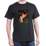 Angel (1) & Tri Cavalier Dark T-Shirt