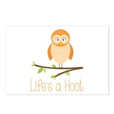 Lifes a Hoot Postcards (Package of 8)