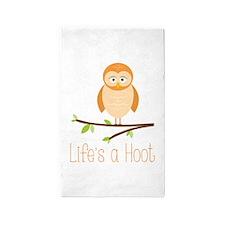 Lifes a Hoot 3'x5' Area Rug