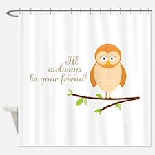 Owlways Shower Curtain