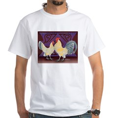 Dutch Bantam Pair2 White T-Shirt