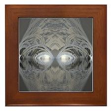 Cool Silver lake Framed Tile