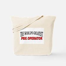 """The World's Greatest PBX Operator"" Tote Bag"