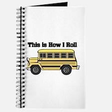 How I Roll (Short Yellow School Bus) Journal