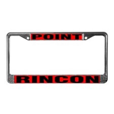 Rincon Point License Plate Frame