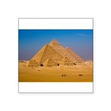 The Great Pyramids of Giza, Egypt. Sticker