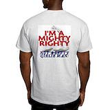 Anti liberal Mens Light T-shirts