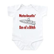 Motor Boating Infant Bodysuit