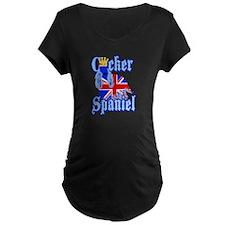 Cocker Spaniel Maternity T-Shirt