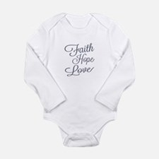 Faith Hope Love Body Suit