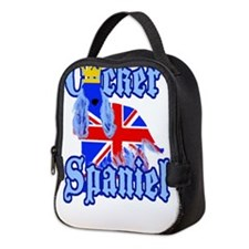 Unique British flag Neoprene Lunch Bag