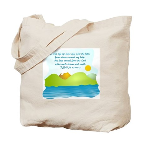 Scripture Verse Christian Tote Bag