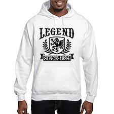 Legend Since 1984 Hoodie