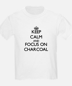 Keep Calm and focus on Charcoal T-Shirt