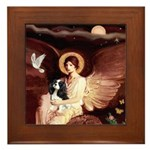 Angel (1) & Tri Cavalier Framed Tile