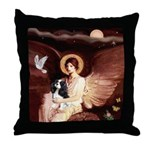 Angel (1) & Tri Cavalier Throw Pillow