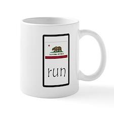 sticker california run.png Mugs