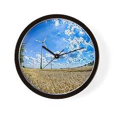 Clean Energy Wall Clock