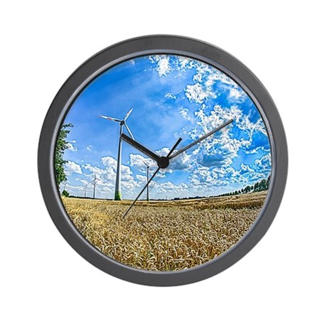 Clean Energy Wall Clock by HDRLBL