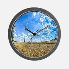 Clean Energy Wall Clock