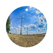 Clean Energy Ornament (Round)