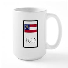 sticker georgia run.png Mugs