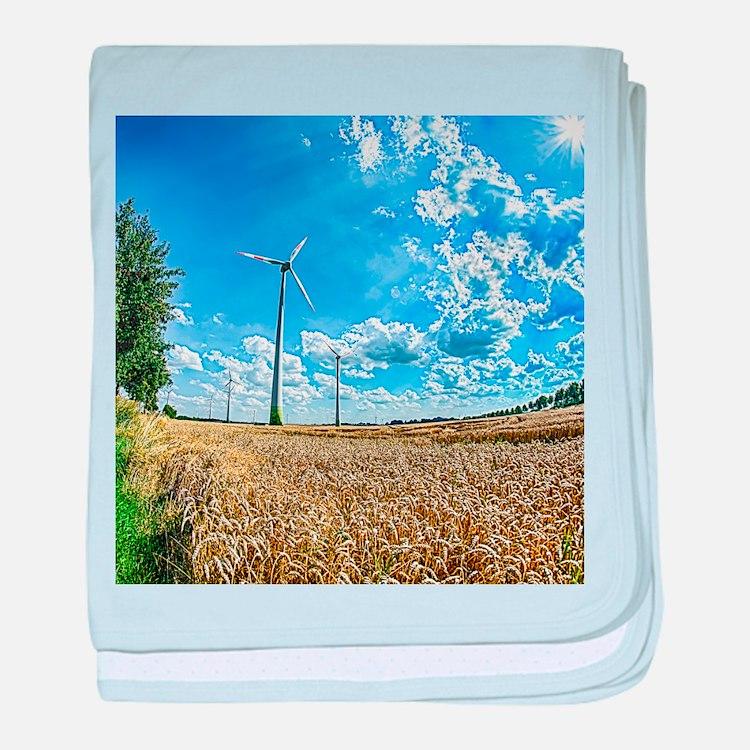 Clean Energy baby blanket