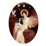 Angel (1) & Tri Cavalier Ornament (Oval)