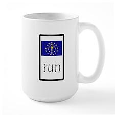 sticker indiana run.png Mugs