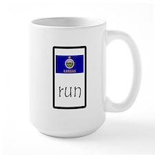 sticker kansas run.png Mugs