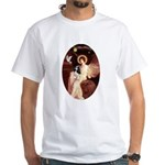Angel (1) & Tri Cavalier White T-Shirt